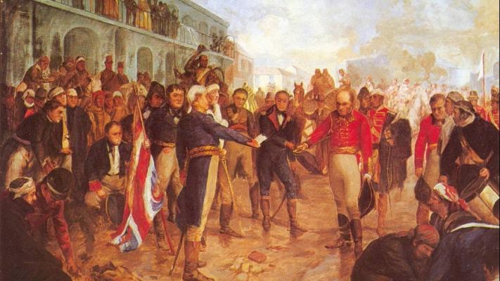 Invasión Inglesa y  Huida de Sobremonte