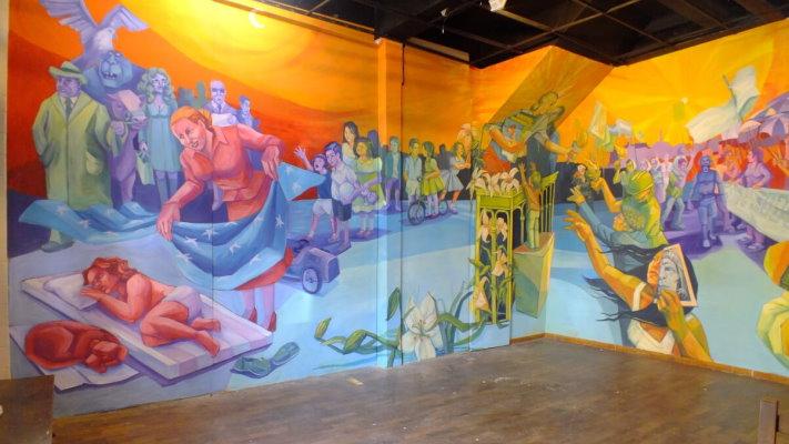 Grupo Mural Nereidas R.