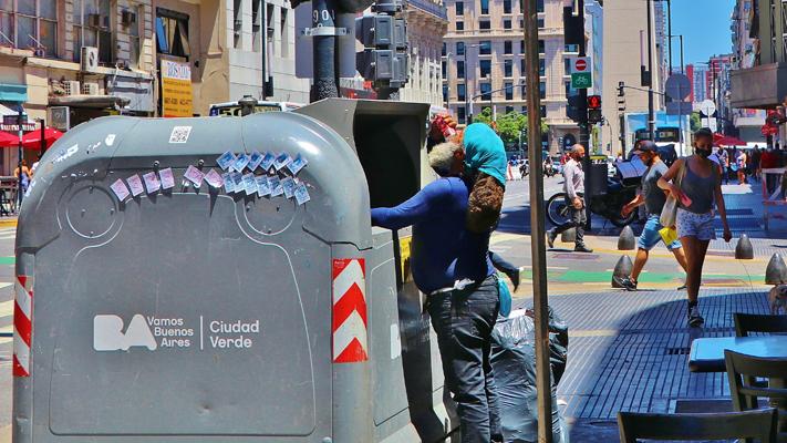 Tristeza de la Calle Corrientes