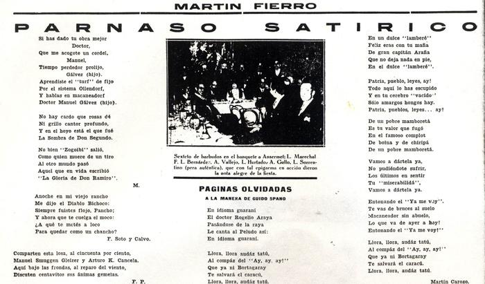 """Los Epitafios de """"Martín Fierro"""""""