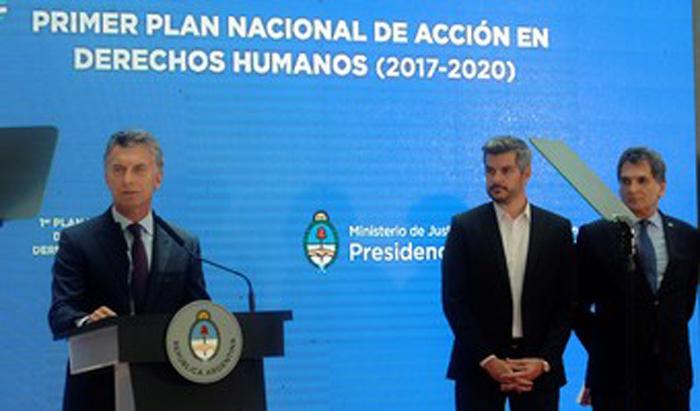 Macri y los DDHH