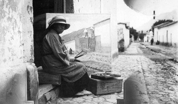 La Mujer que Pintó la Revolución