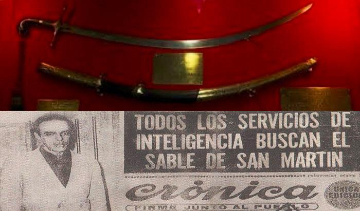 Robo del Sable de San Martín