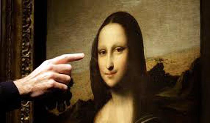 La Mona Lisa (a) La Gioconda