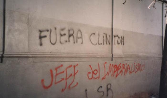 Clinton en Argentina